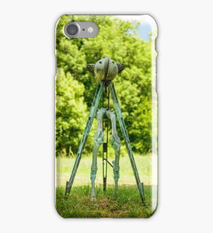 Sculpture, Il Giardino di Daniel Spoerri, Seggiano, Tuscany, Italy iPhone Case/Skin