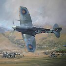 Supermarine Spitfire Mk V by defineart