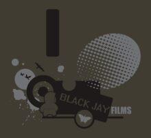 Black Jay Films  T-shirt 001 by Black Jay  Films