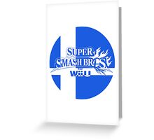 Super Smash Bros. For Wii U Greeting Card
