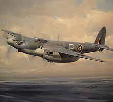 D.H. Mosquito Mk VI by defineart
