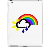 A chance of rainbows iPad Case/Skin