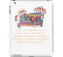 Ellen's Energy Adventure iPad Case/Skin