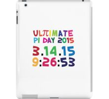 Excellent 'Ultimate Pi Day 2015 Color Explosion' T-shirts, Hoodies, Accessories and Gifts iPad Case/Skin