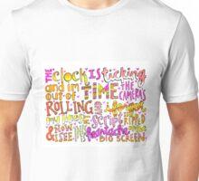 Heartache on the Big Screen Lyrics Unisex T-Shirt