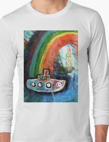 ahoy there  Long Sleeve T-Shirt