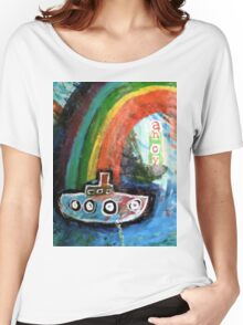 ahoy there  Women's Relaxed Fit T-Shirt