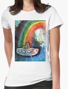 ahoy there  Womens Fitted T-Shirt