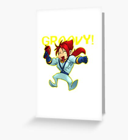 Iora's New Suit Greeting Card