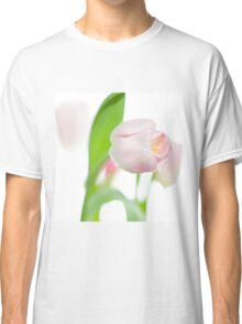 gentle pink tulips Classic T-Shirt