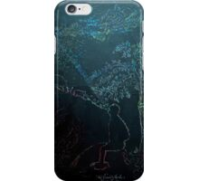 The World moves through you iPhone Case/Skin