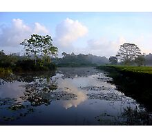 Early Morning Sri Lanka Reflections Photographic Print