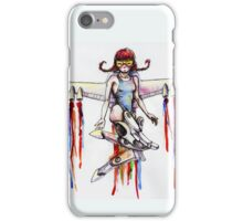 jetpack girl iPhone Case/Skin