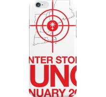 Cool 'Winter Storm Juno, January 2015' T-shirts, Hoodies, Accessories and Gifts iPhone Case/Skin