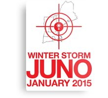 Cool 'Winter Storm Juno, January 2015' T-shirts, Hoodies, Accessories and Gifts Metal Print