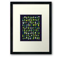 Robotz - Irish Grass Framed Print
