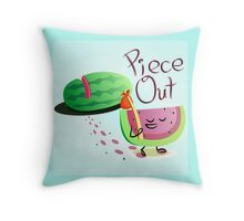 Piece Out Throw Pillow