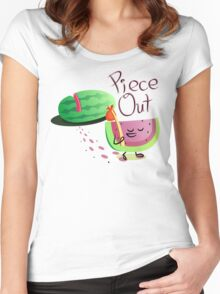 Piece Out Women's Fitted Scoop T-Shirt
