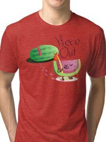 Piece Out Tri-blend T-Shirt