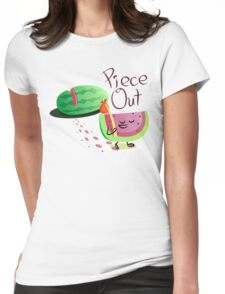 Piece Out Womens Fitted T-Shirt