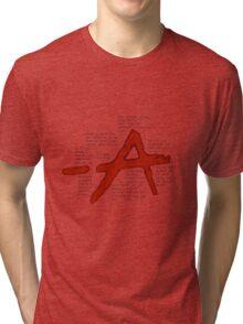 pretty little liars A qoutes   Tri-blend T-Shirt