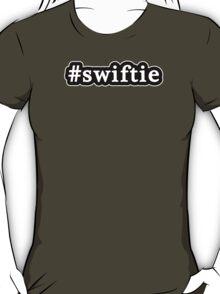 Swiftie - Hashtag - Black & White T-Shirt