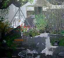 Irish garden by Noel McMahon
