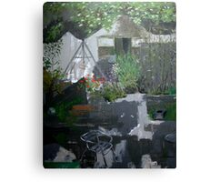 Irish garden Canvas Print