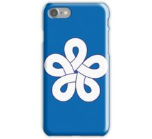 fukuoka flag iPhone Case/Skin