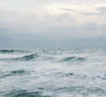 Misty Ocean Sticker
