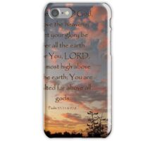 Above All The Earth iPhone Case/Skin