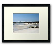 Sanna Beach Framed Print