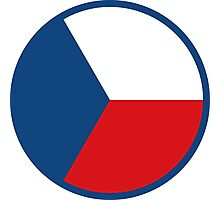 Czech Air Force Roundel Photographic Print