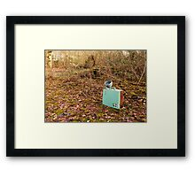 Out in the open  Framed Print