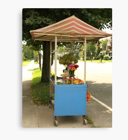 FARM STAND Canvas Print