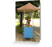 FARM STAND Greeting Card
