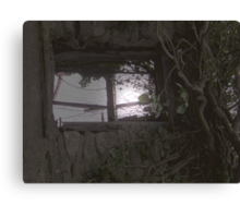 Moonlight at the window - Strabane Co Tyrone  Canvas Print