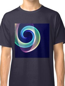 Glowing Spiral 3 Classic T-Shirt
