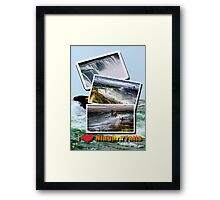 Over The Niagara Framed Print