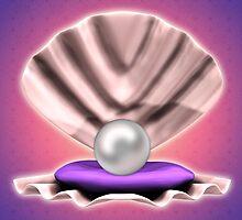 Pearl in shell by AnnArtshock