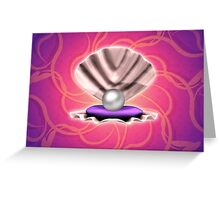 Pearl in shell 2 Greeting Card