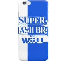 Super Smash Bros. For Wii U iPhone Case/Skin