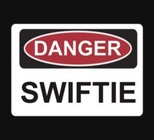Danger Swiftie - Warning Sign Kids Clothes