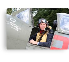 Tribute to the 1940's RAF #3 Canvas Print