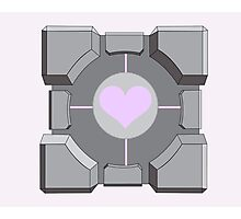 Companion cube Photographic Print