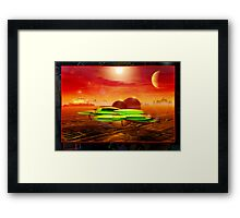 Moon Base 5912 Framed Print