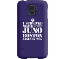 Excellent 'I survived Winter Storm Juno Boston January 2015' T-shirts, Hoodies, Accessories and Gifts Samsung Galaxy Case/Skin