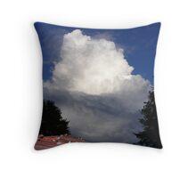 Passing Storm 86 Throw Pillow