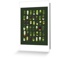 Robotz - Forest Greeting Card