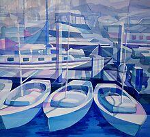 Blue Marina by gerardo segismundo